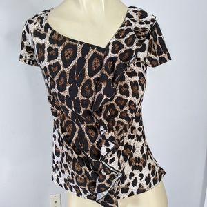 INC International Company - Leopard top